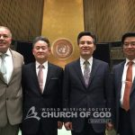 The First Church invited to the United Nations CERF?